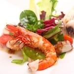 ホテル ラ・スイート神戸ハーバーランド - 瀬戸内産海の幸のサラダ仕立て バルサミコヴィネガー風味