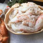 海鮮屋まるなん - 丁寧に盛り付けられた蟹♪