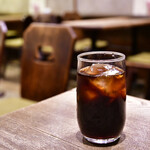 喫茶ルオー - 【セイロン風カレーライス@1,000円】セミコーヒー(アイス)