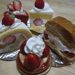 ヨシオ - 料理写真:「イチゴ系」で、纏めてみました!