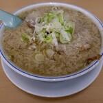 安福亭 - 老麺・大油(800円)