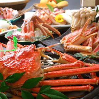 ■特別価格■本ズワイ蟹と鍋食べ飲み放題コース4480円!!