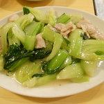 味菜里 - 豚肉とちんげんさいの炒め