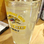 晩杯屋 - レモンサワー