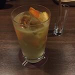 バー ゴヤ - 高知産橙のカクテル