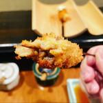串かつ 吉国 - 牛肉