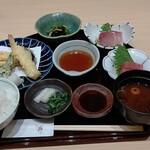 127625637 - ●魚定食 (サワラ煮) 1100+味彩御膳1650=2,750円 2020年03月