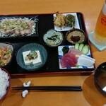 ペンション最南端 - 料理写真:晩御飯1