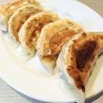 麺の風 祥気 - 手作りジャンボ餃子