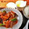 へんみ - 料理写真:Cランチ選べる定食(酢豚)800円