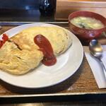 吉ひろ - 料理写真:オムライス 700円