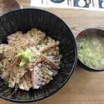 Isohamagyogyou - マグロトロ炙り丼@1,000円