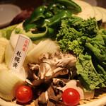 127635503 - 野菜盛り合わせ 旬の野菜なので季節により変わる様です