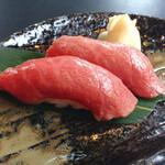 米沢牛黄木 牛鍋おおき  - 牛寿司