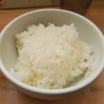 キブサチ - 料理写真:小ライス(サービス)
