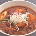 米沢牛黄木 牛鍋おおき  - 米沢牛芋煮カレー うどん