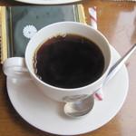 12764801 - ドリンクはコーヒーを。 お菓子が付いてました。