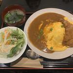 Mahoroba - ポークカツオムカレー900円