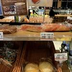 太田強戸PA フードコート - 帰りにパンを1個ww