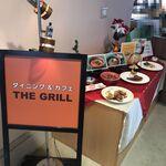 瀬戸内ゴルフリゾート レストラン THE GRILL - レストラン入口