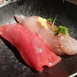 魚屋ひでぞう - 〆の握り寿司