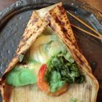 季節料理池宮 - もえぎコース:焼き物?