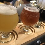 Two Fingers Craft Beer - ・3種飲み比べセット 1,400円/税抜             ☆Now You See Me (DDH Ver.)             ☆Rainforest Sorbet             ☆ Cocobanger
