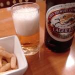 小柴屋 - 瓶ビール