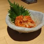 静岡おいしんぼ処 しずおかばっかぁ - ツブ貝のチャンジャ