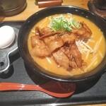Marukinhompo - 炙り豚バラ百年味噌ラーメン!何だか凄いタイトルだぞ。