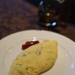 白馬東急ホテル - 料理写真:作ってもらったオムレツ