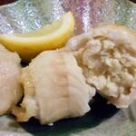 手しごとこじま - 真薯の白身魚包み揚げ