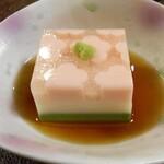 手しごとこじま - 三色胡麻豆腐