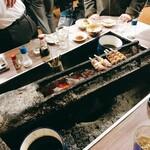 ニューカヤバ - 焼き台