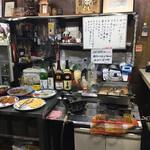 木岡商店 - 店内