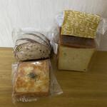 しあわせのパンとカフェ はるくもsun. - 料理写真:どれも、美味しゅうございましたm(_ _)m
