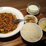 中国名菜 陳麻婆豆腐 - 陳麻婆豆腐ランチセット