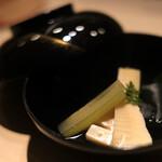 江戸前 鮨 服部 - 若竹のお吸い物