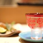 江戸前 鮨 服部 - 日本酒の「紀土(KID)」