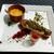 Brasserie Gent - 自家製ポークハムのグリル 香草パン粉で 粒マスタードソース ビーツのマリネ添え