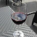 Brasserie Gent - グラスワイン 赤(キャンティでした)