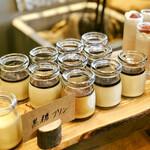 NAAK CAFE - 黒糖プリン@二子玉プリンちゃんよりゼラチン質ですが、黒蜜の風味が強くこくのある甘さで美味しい