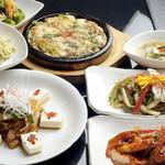 陽山道 - 韓国料理もいろいろ楽しめます。