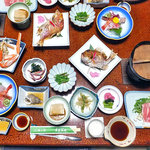 東屋旅館 - 料理写真:夕食