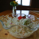 エヤム - パスタについてくる サラダ