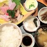 美梨の里 真野 - 料理写真:お造り定食¥1890