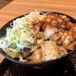カルビ丼とスン豆腐の専門店 韓丼 - 料理写真:上てっちゃん丼