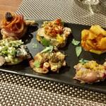 レストラン マルタ - マルタ前菜6点盛り合わせ