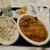 みかづき - ビーフイタリアン大盛・ポテトセット(680円)+ホワイトイタリアン(440円)