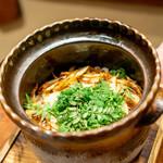 傳 -  筍と木の芽のご飯